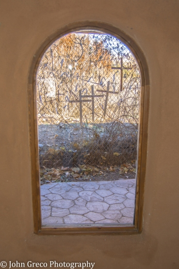 El Santuaario de Chimayo Window View -CW (1 of 1)