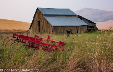 Abandoned Barn in the Palouse-CW-1028