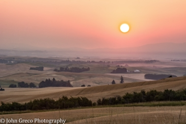 Sunrise in the Palouse-CW-