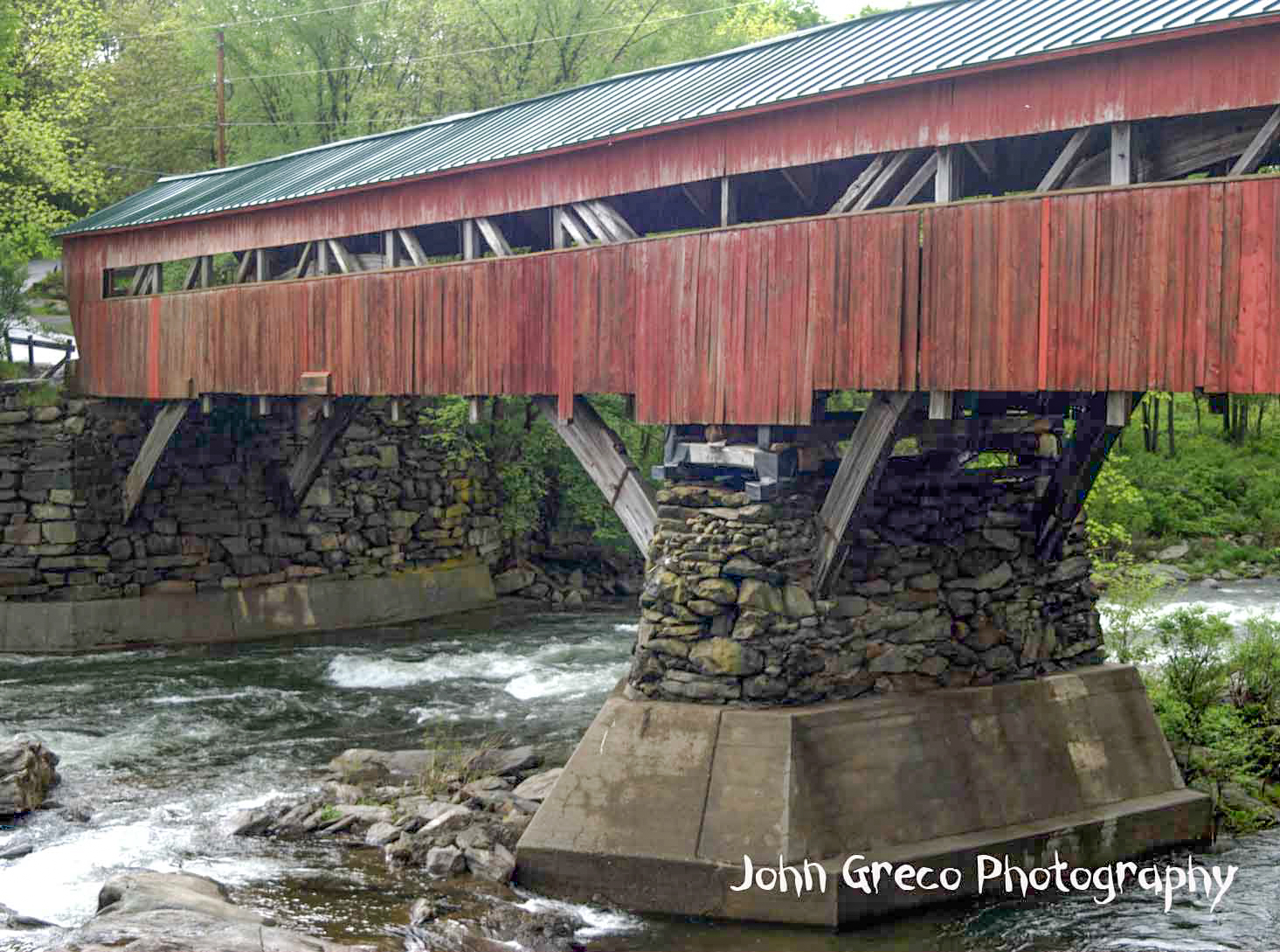 Taftsville overed Bridge- Redone CW-