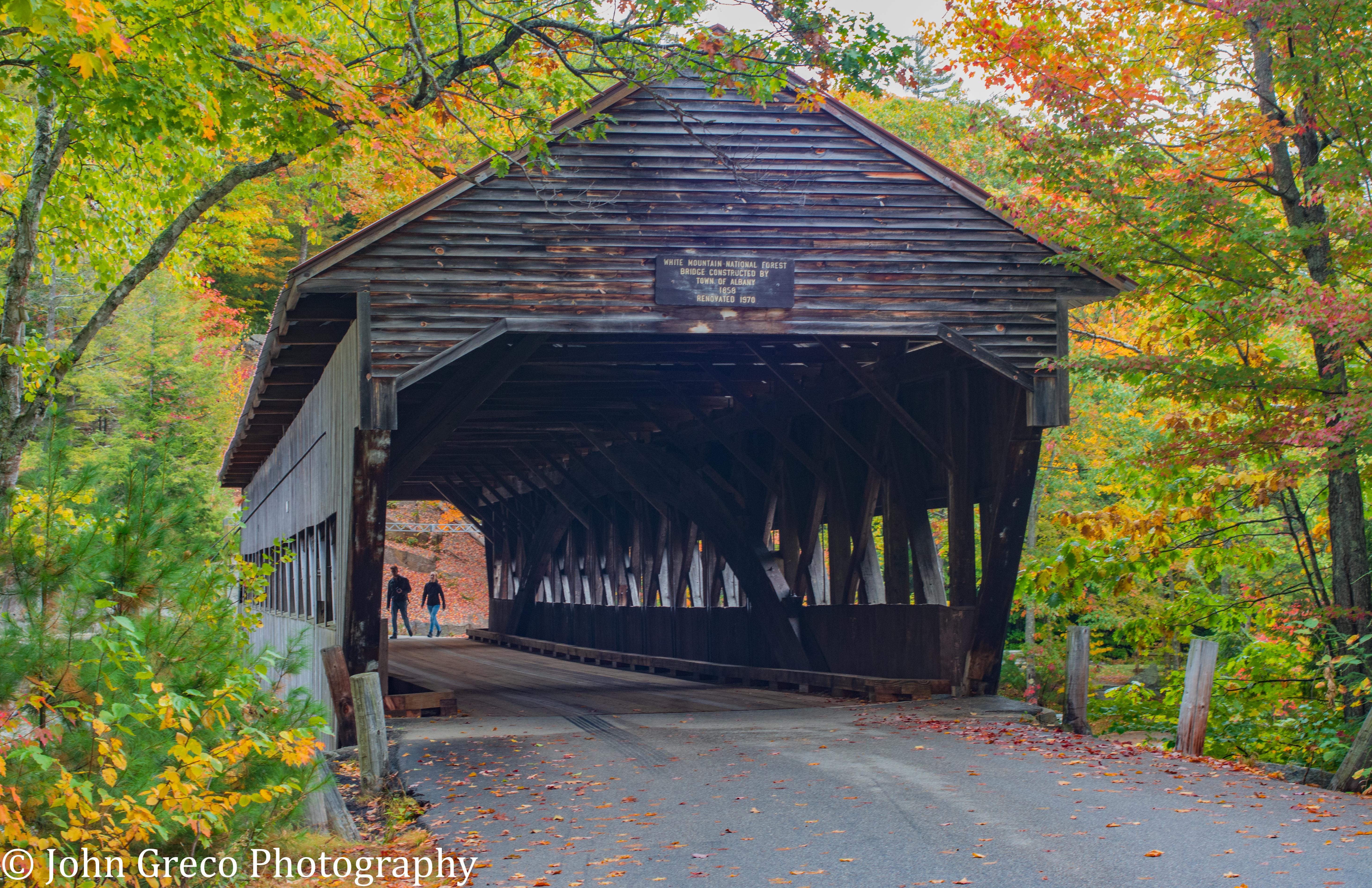 White Mt. Natl Bridge-NH-1