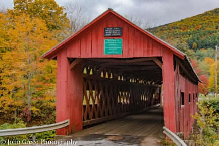 Northfield Falls Covered Bridge 1872 CW-0129
