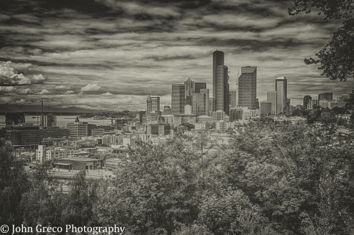 Downtown Seattle in Black and WHite-CW-final-
